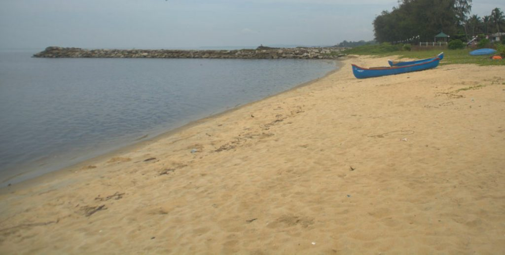 India is blessed with a long coastline and many beaches. Seen here is Kappad beach near Kozhikode in Kerala, where Portuguese sailor Vasco da Gama landed, thus finding a sea route between Europe and India.