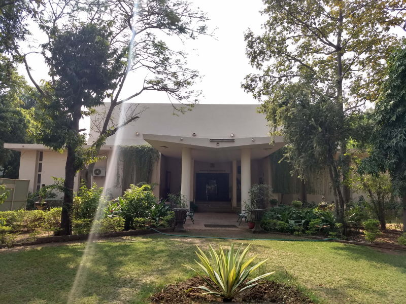 The Fateh Singh Museum houses the art collection of the Gaikwads