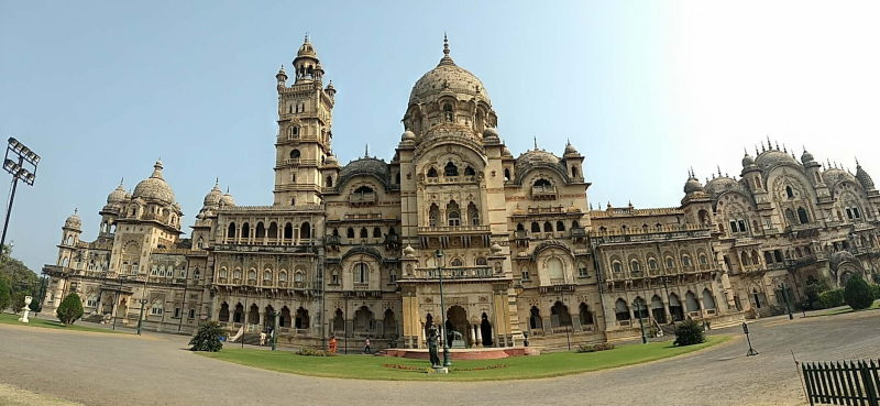 The Lakshmi Vilas Palace, locally called the LVP, is the house of the royal Gaikwad family. The family still lives there.