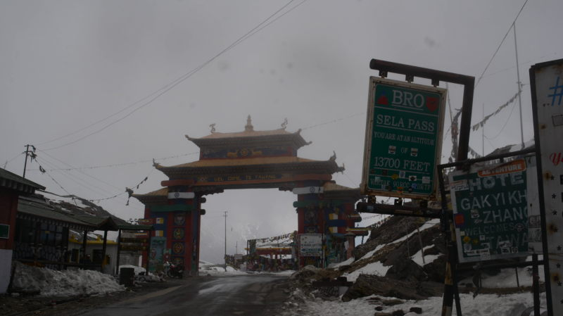 The gateway to Sela pass