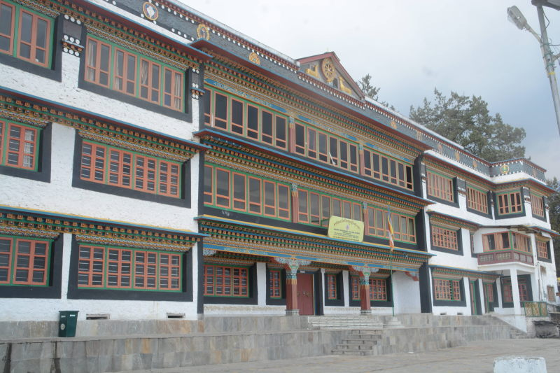 Monk quarters at Tawang monastery.