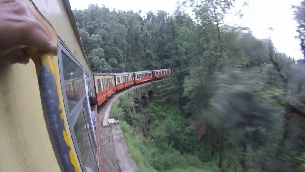The Kalka-Shimla mountain railway is within 30 km of Chandigarh