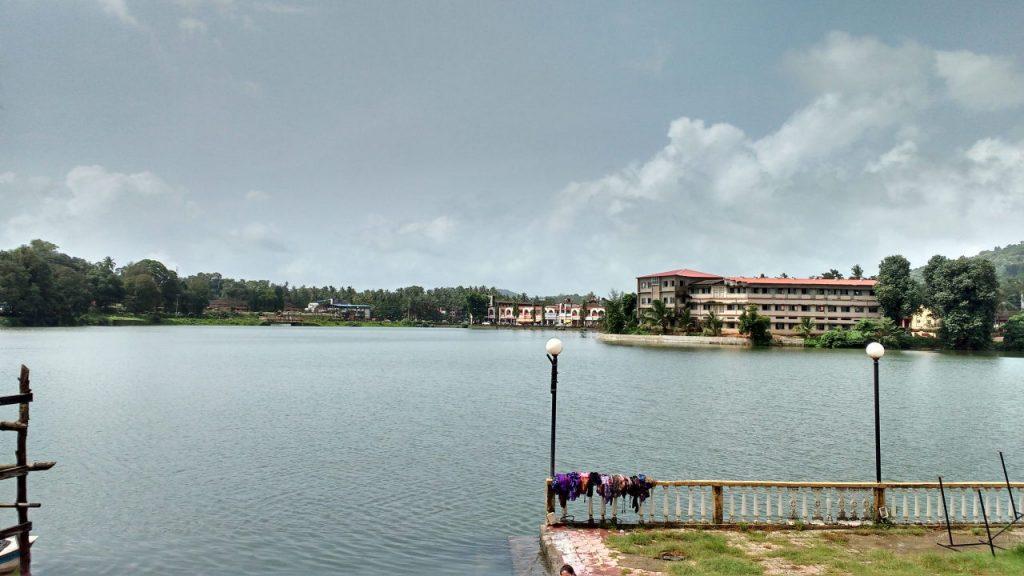 Moti lake at Sawantwadi.