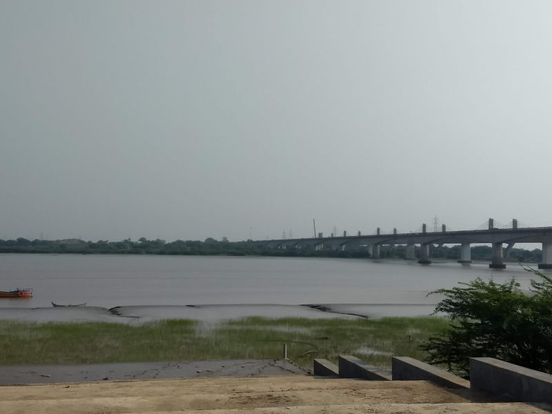 Narmada river near Bharuch