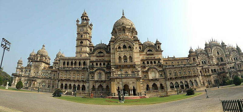 Lakshmi Vilas Palace belonging to the Gaikwads of Vadodara