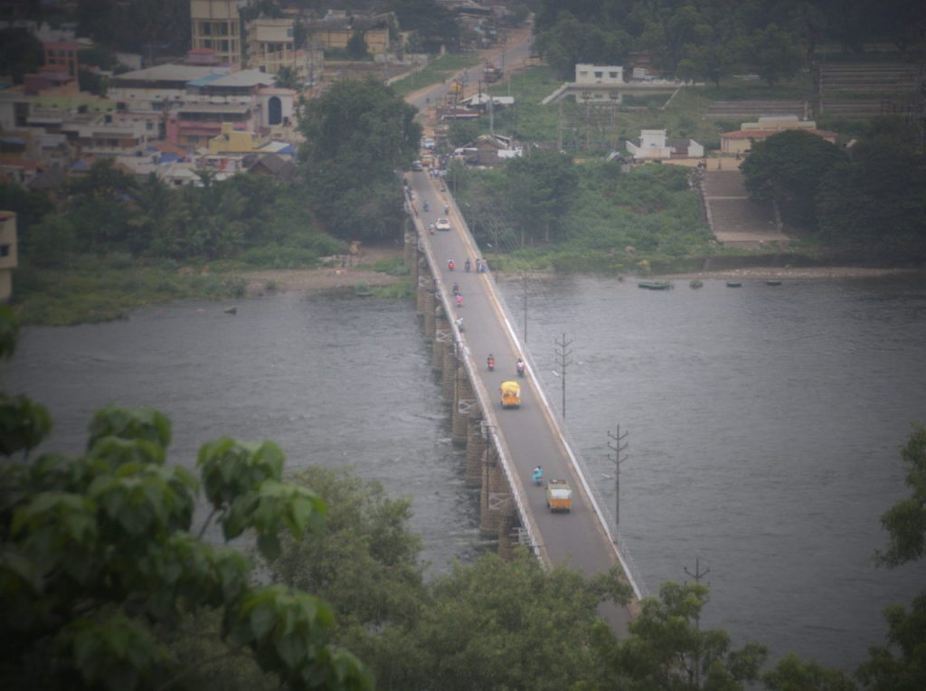 Bridge over Cauvery river at Mettur