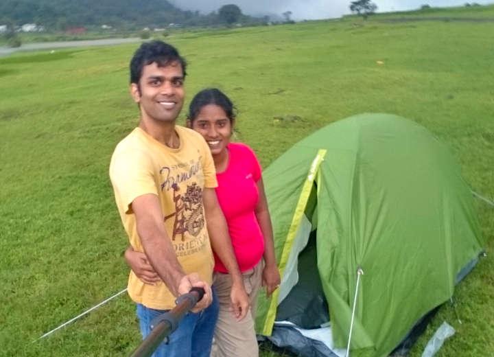 camping tents india